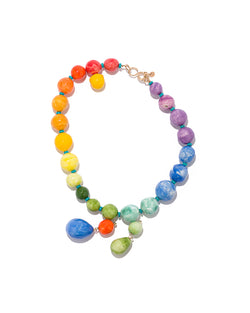 Prayer Bead Pride Necklace