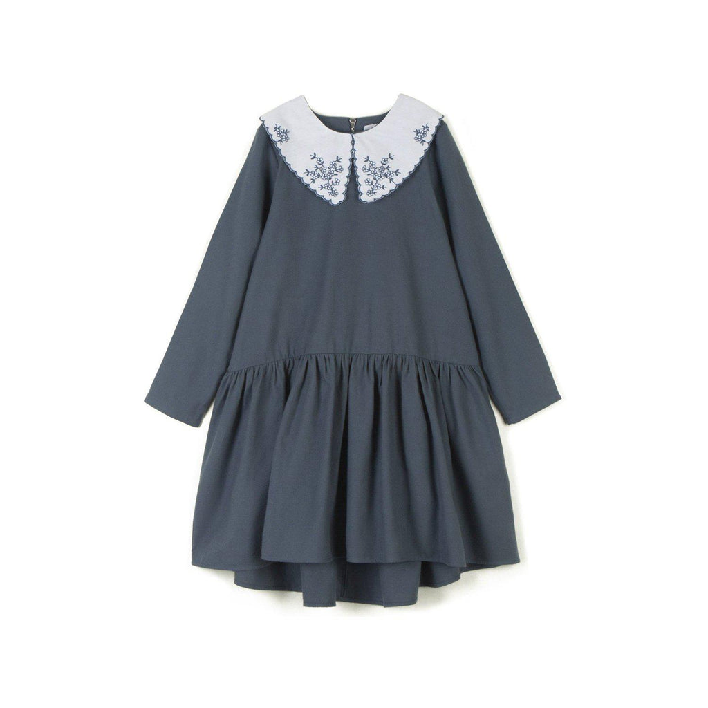 Wolf and Rita Kids Dress Doroteia Pale Blue