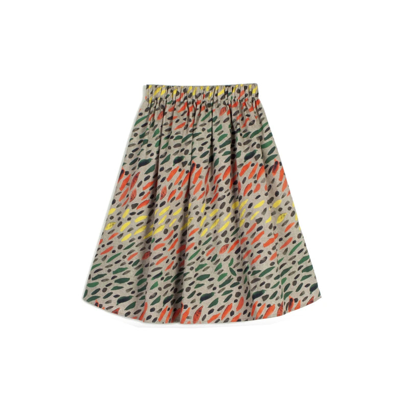 Wolf and Rita Kids Skirt Lurdes Winter Grass