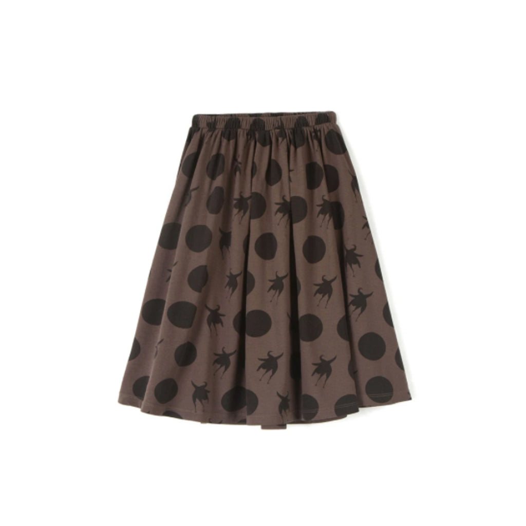 Wolf and Rita Kids Skirt Simone Disco Bird Bege