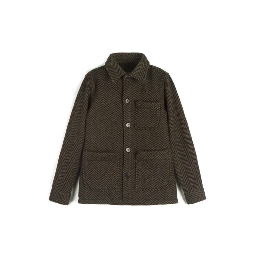 Wolf and Rita Kids Coat Jaime Herringbone