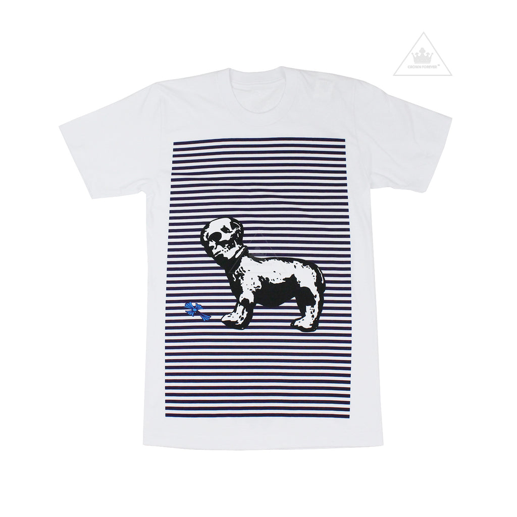 Chrome Hearts Foti Dog Short Sleeve T Shirt White