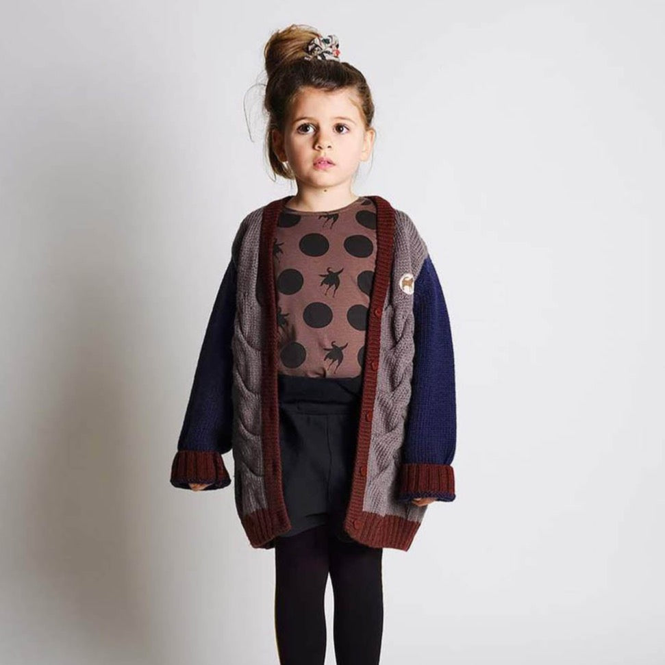 Wolf and Rita Kids Samuel Braid Taupe