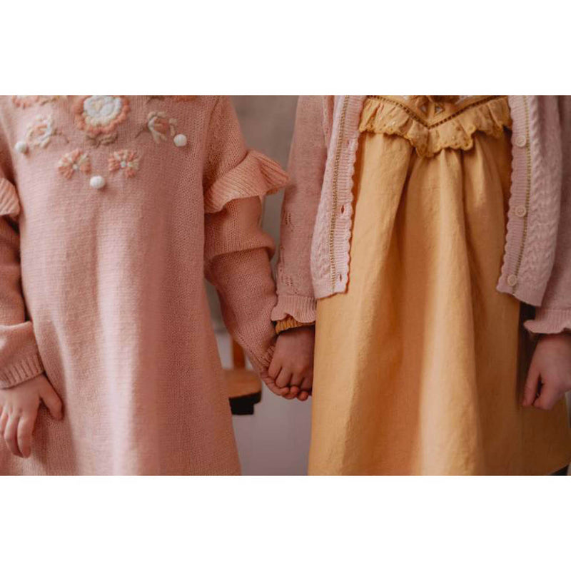 Louise Misha Robe Milusa Blush