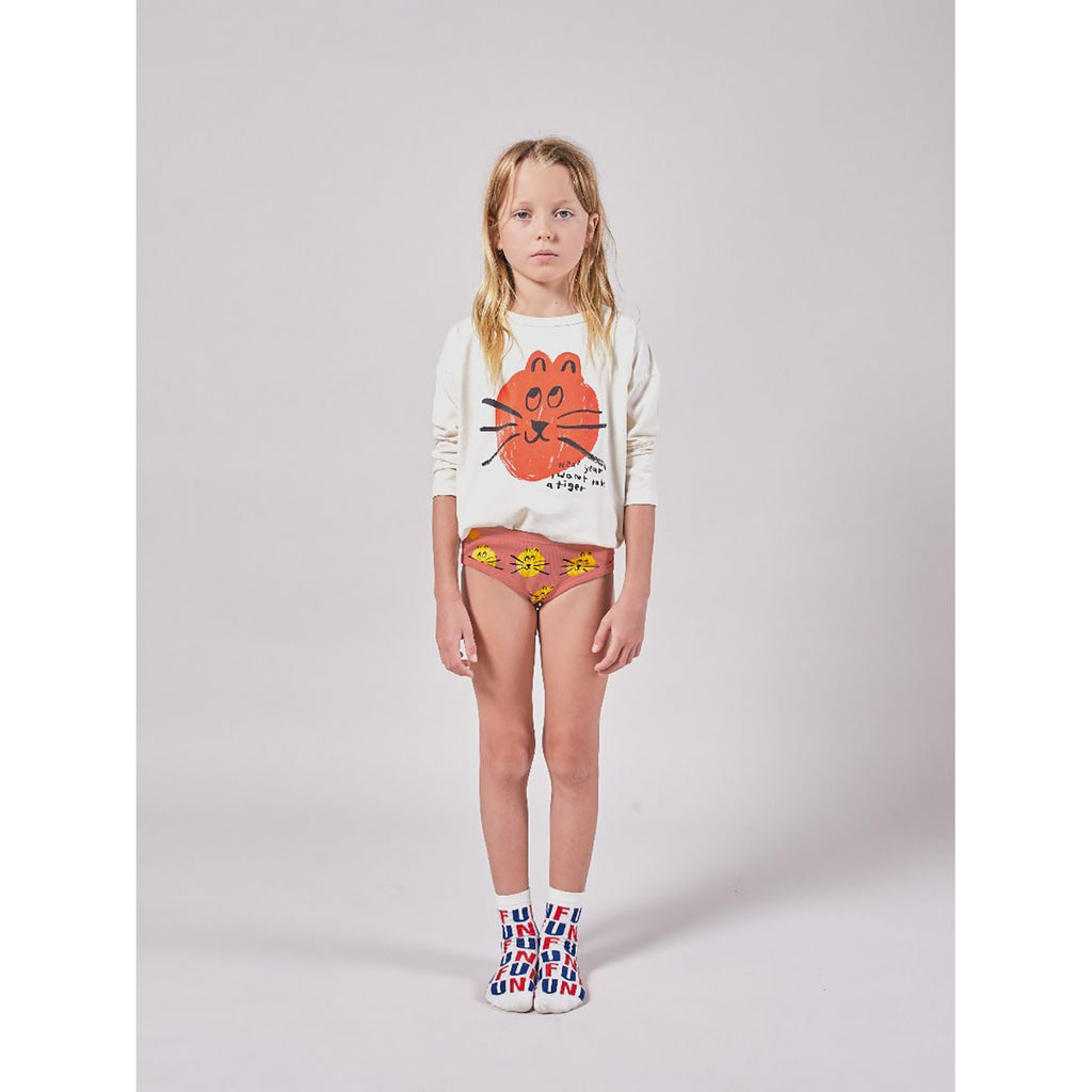 Bobo Choses B.C and All Over Cat Girl Underwear Set