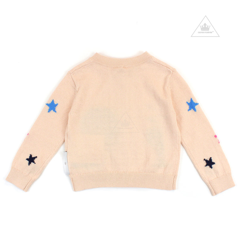Stella McCartney Kids Girl Mermaids Knit Cardigan