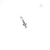 Chrome Hearts Baby Fat Cross Earring