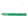 Chrome Hearts 3 Button Green Leather Bracelet