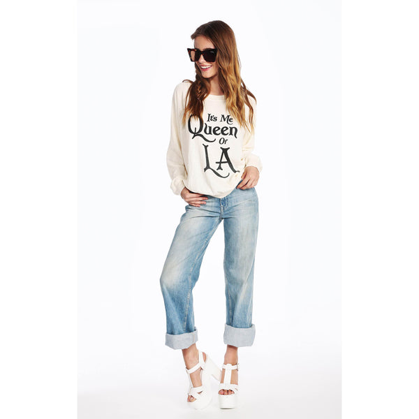 Wildfox Couture Queen of LA Sweatshirt