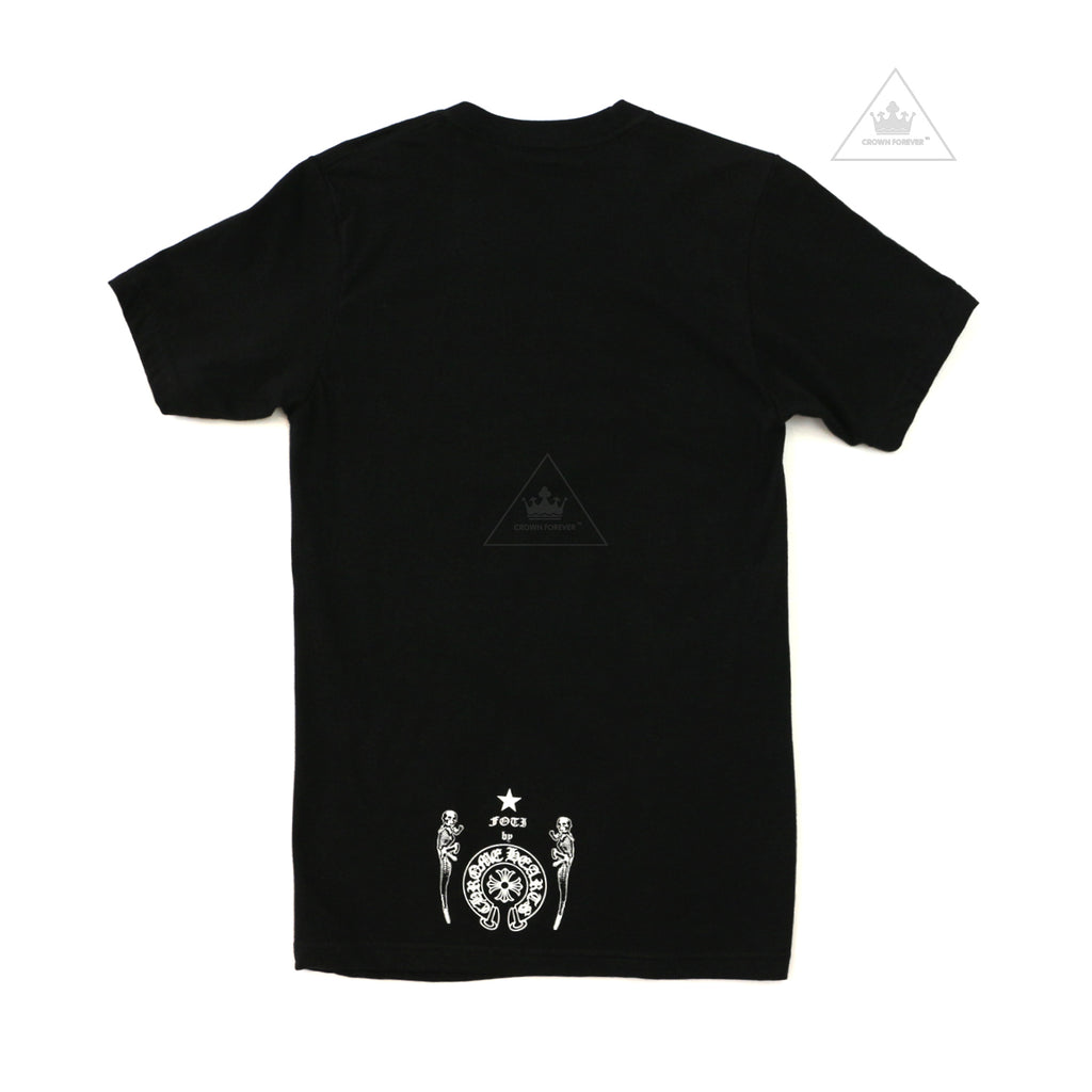 Chrome Hearts Foti Dog T Shirt Black