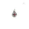 Bill Wall Leather C340 Mid Star Charm Red Stone