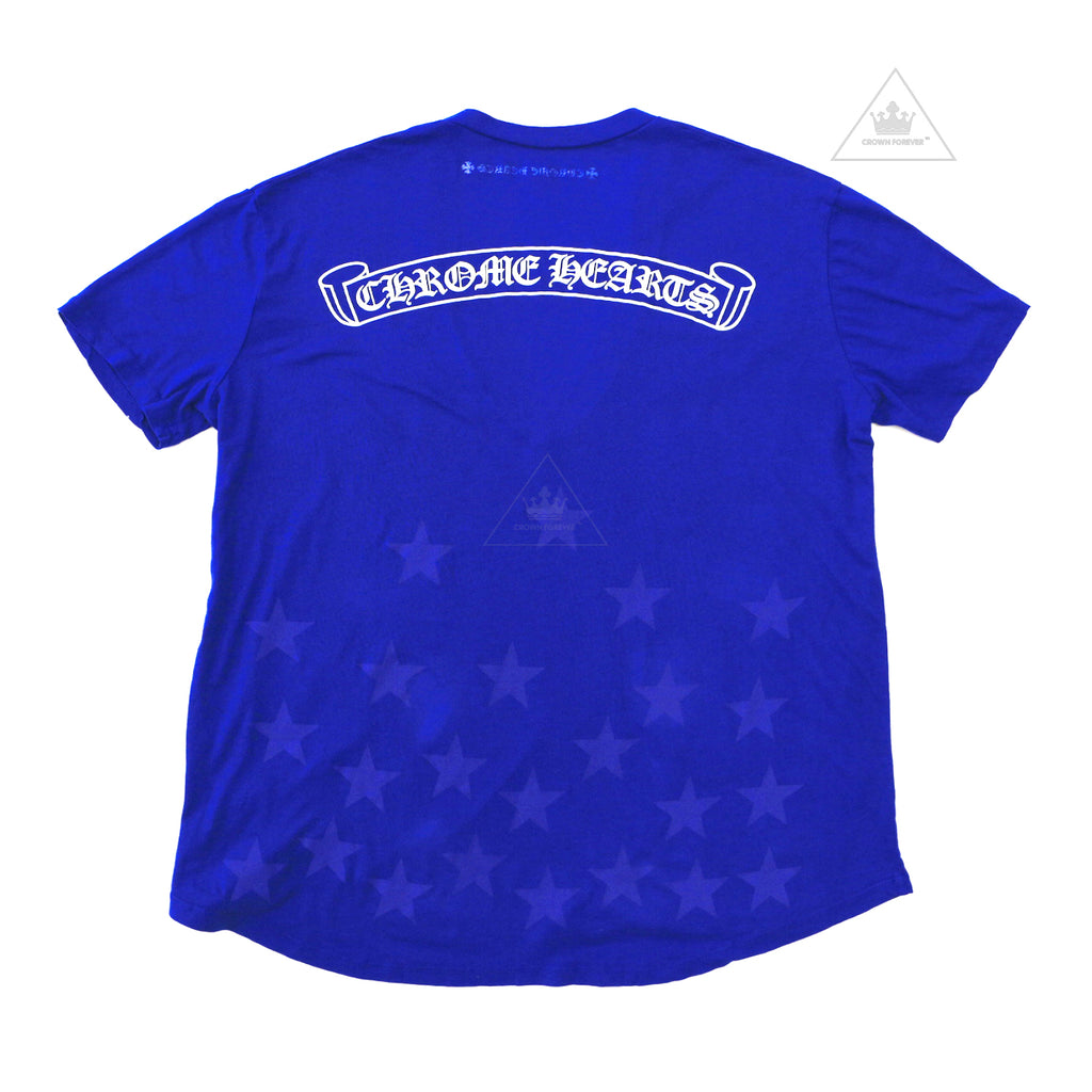 CH Women's Limited Blue Star V-Neck Tee