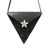 CH Triangle Slice Bag in Black