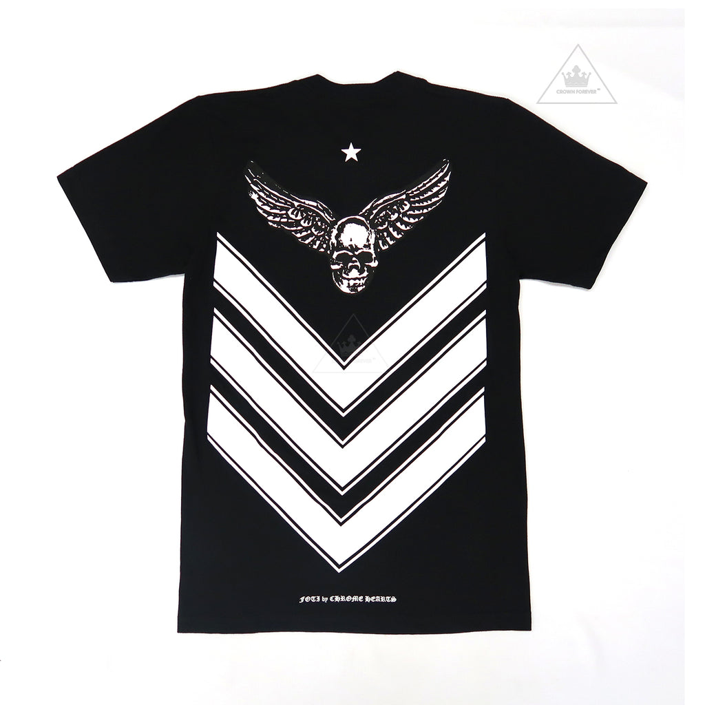 Chrome Hearts Foti Wing Chevron Tee