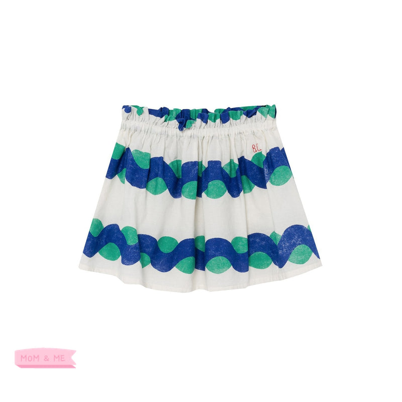 Bobo Choses All Over Sea Flared Skirt