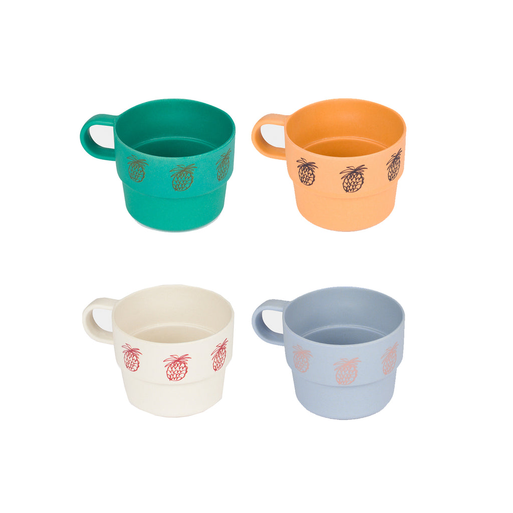 Bobo Choses Pineapple Bamboo Cup Pack of 4