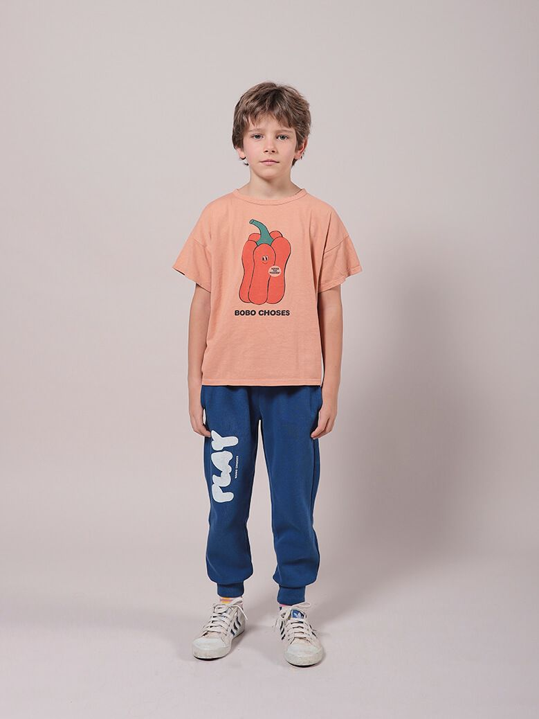 Bobo Choses Vote For Pepper Short Sleeve T-Shirt Organic Cotton