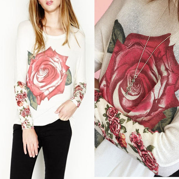 Lauren Moshi Rose Sweater