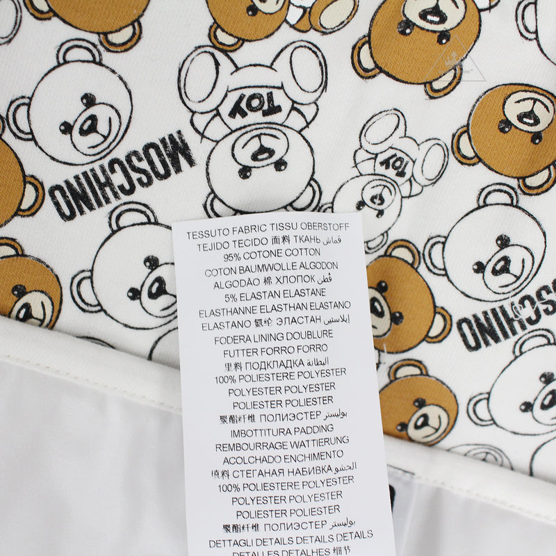 Moschino Baby Teddy Logo Changing Bag