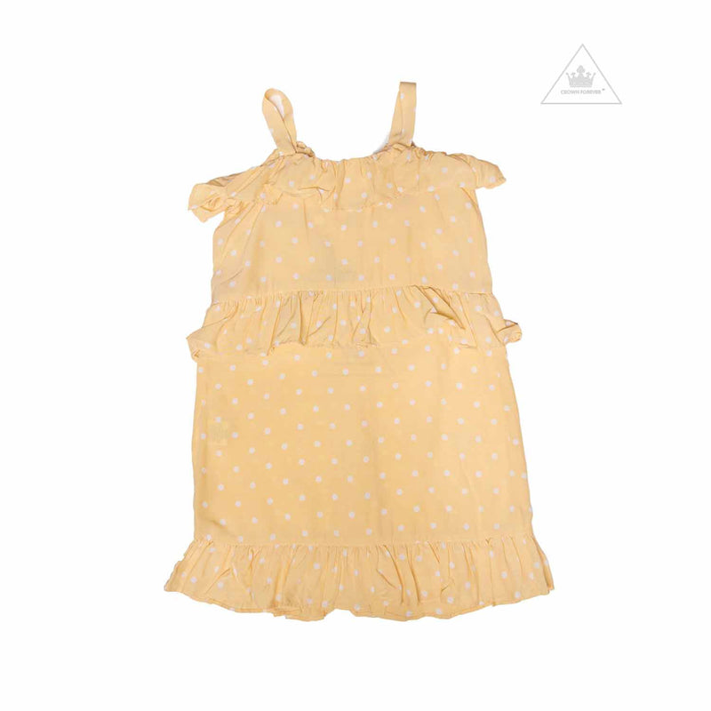 Lil Lemons Sunshine Tiered Dress Daisy