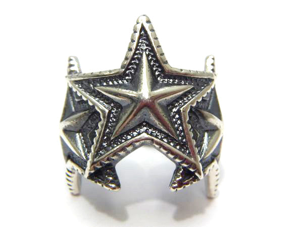 Cody Sanderson 3 Interlocking Star Ring