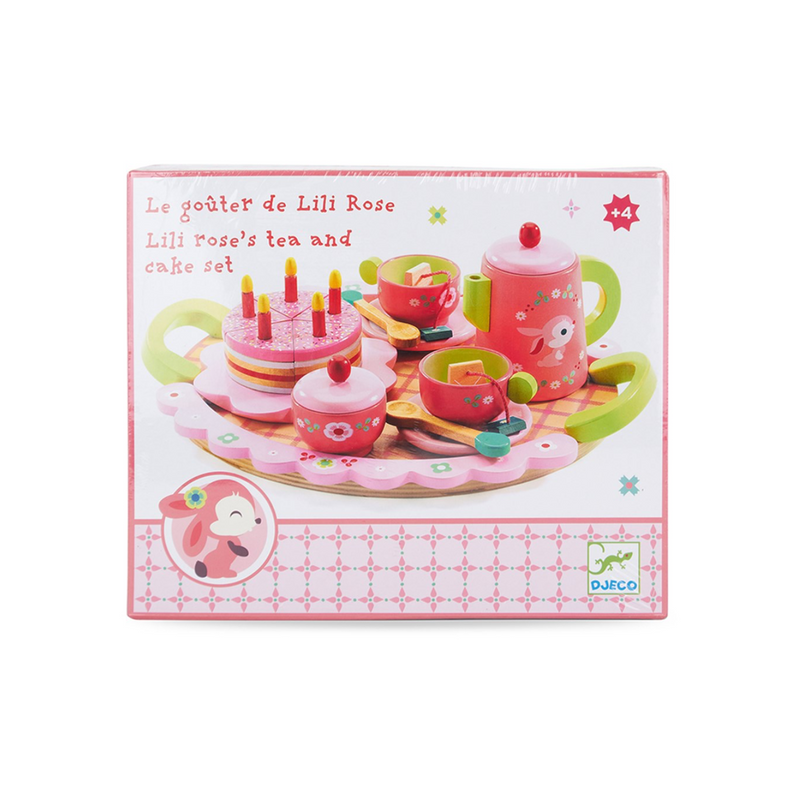Djeco Role Play Lili Rose Tea Party