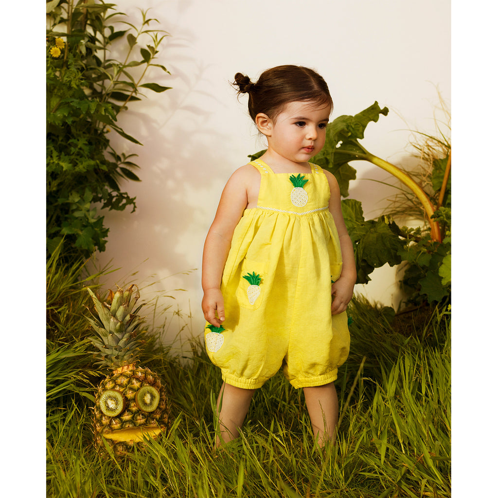 Stella McCartney Kids Pineapple Patch All In One