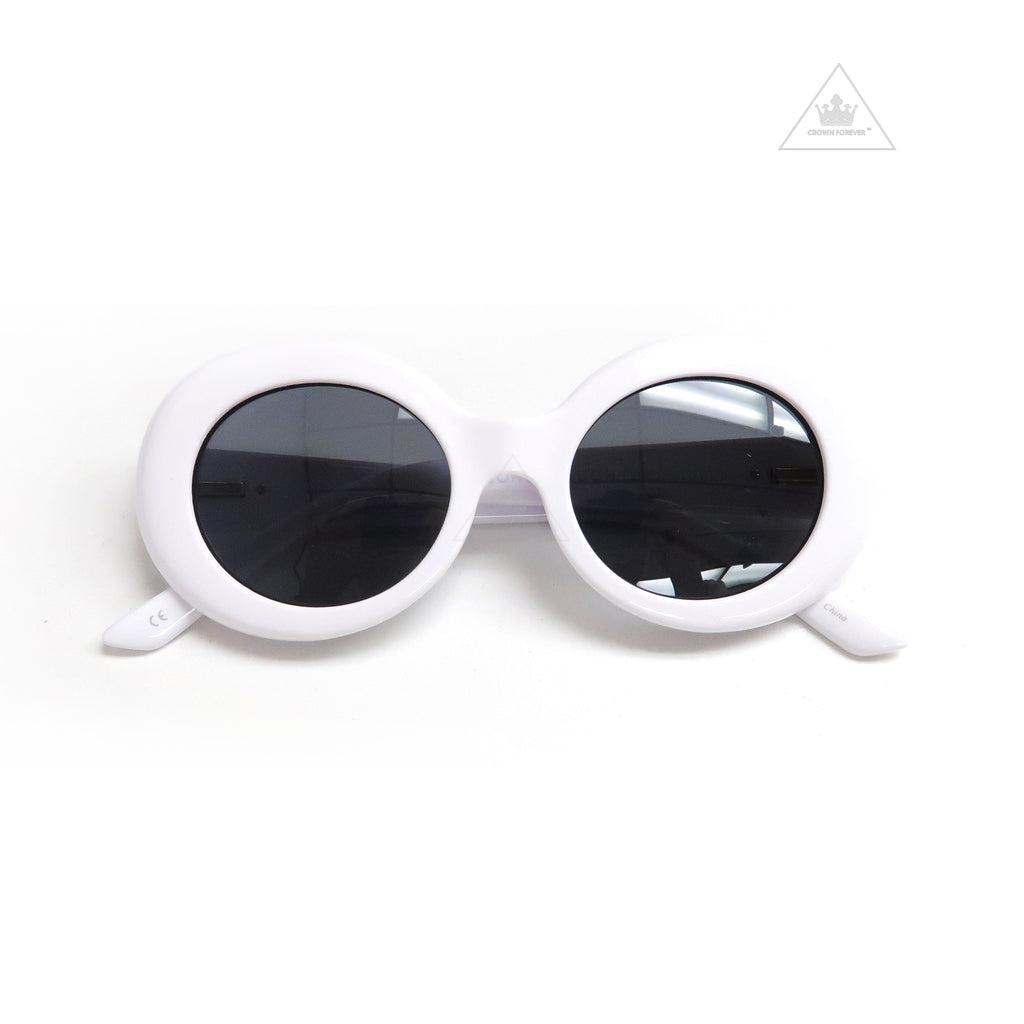 Sons + Daughters Eyewear Kurt White Sunglasses