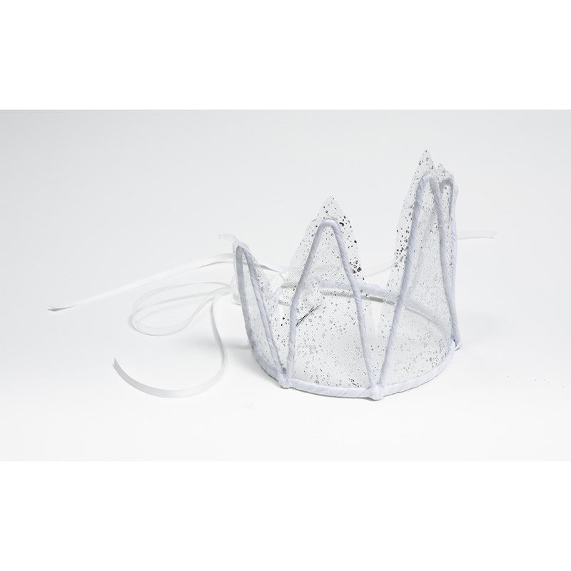 Petite Hailey Wire Fabric Crown