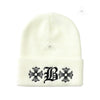 Chrome Hearts Limited Bella Hadid White Beanie