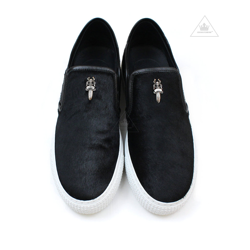 Chrome Hearts Dagger Slip On HOC Shoe