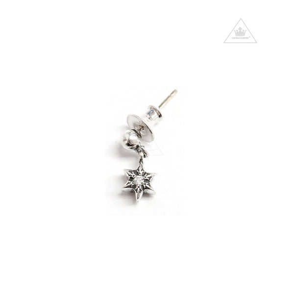 Chrome Hearts Tiny Star 1 Drop Earring