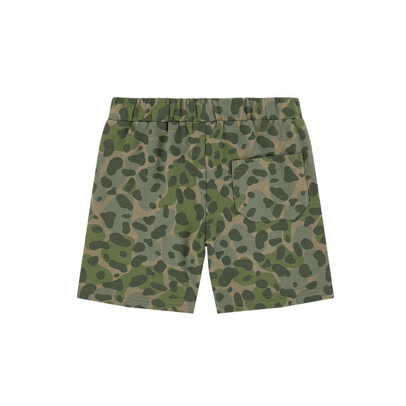 Stella McCartney Kids Boy Camo Sweatshorts