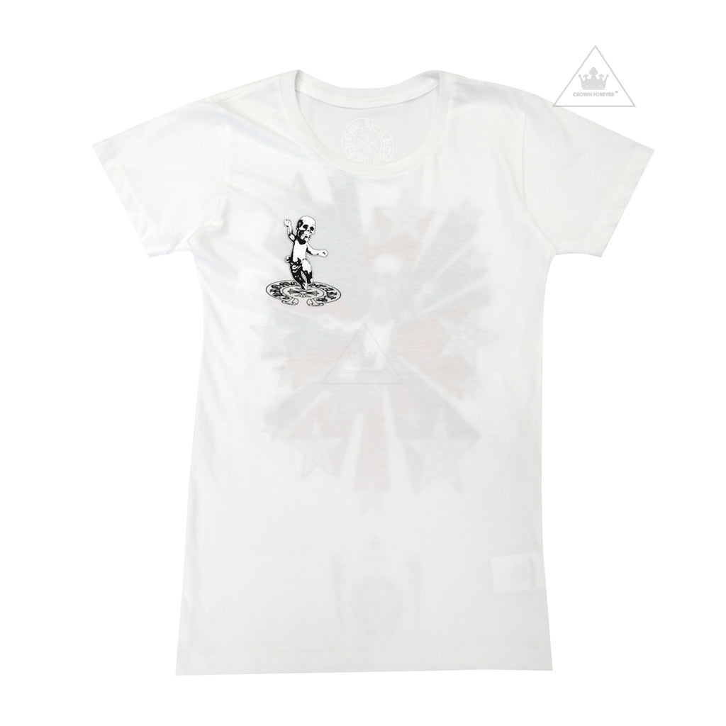 CH Women's Foti Star Tee White