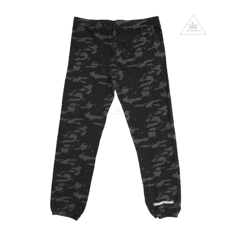Chrome Hearts Grey Camo Sweat Pants
