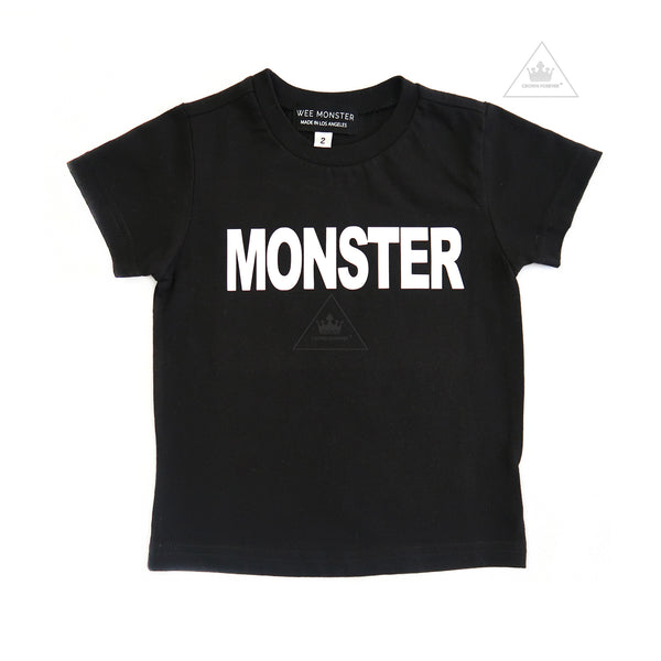 WEE MONSTER MONSTER Tee - Unisex for Boys and Girls