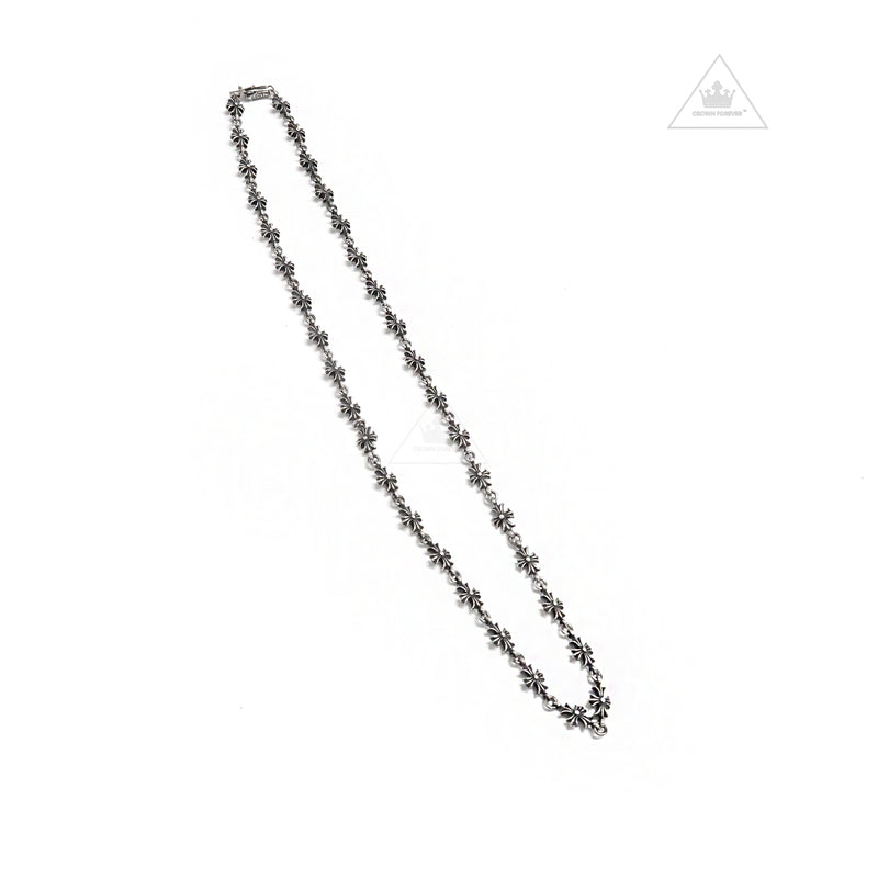 Chrome Hearts Tiny E CH Plus 20 Inch Necklace