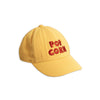 Mini Rodini Pop Corn Embroidery Cap