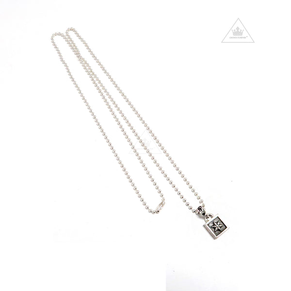 Chrome Hearts CH Plus Framed Charm