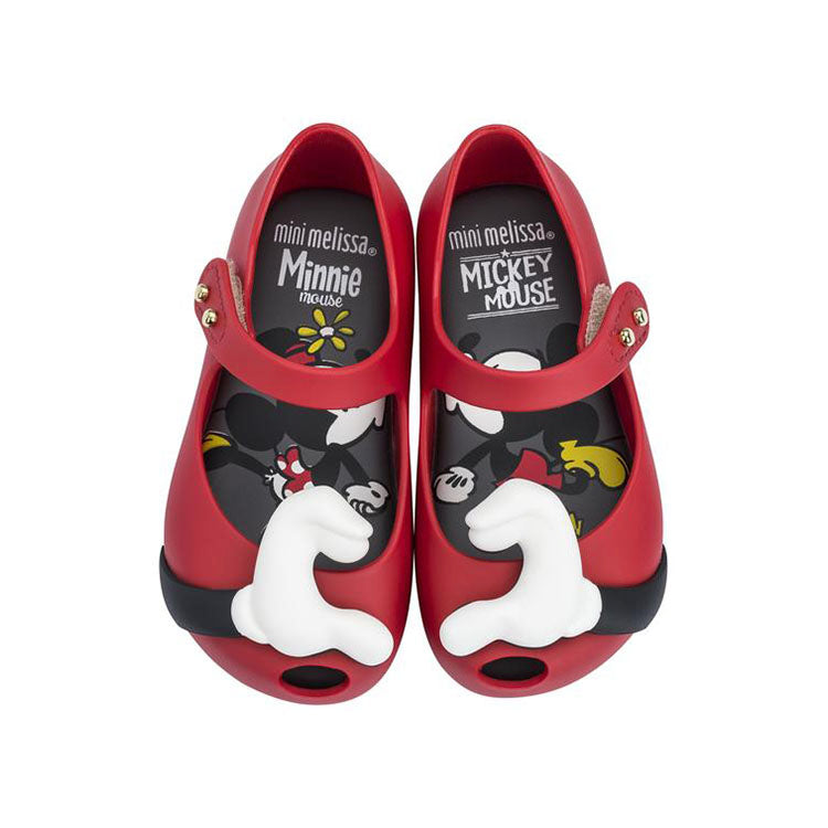 d56fc05a69788 Mini Melissa Ultragirl Disney Red – Crown Forever