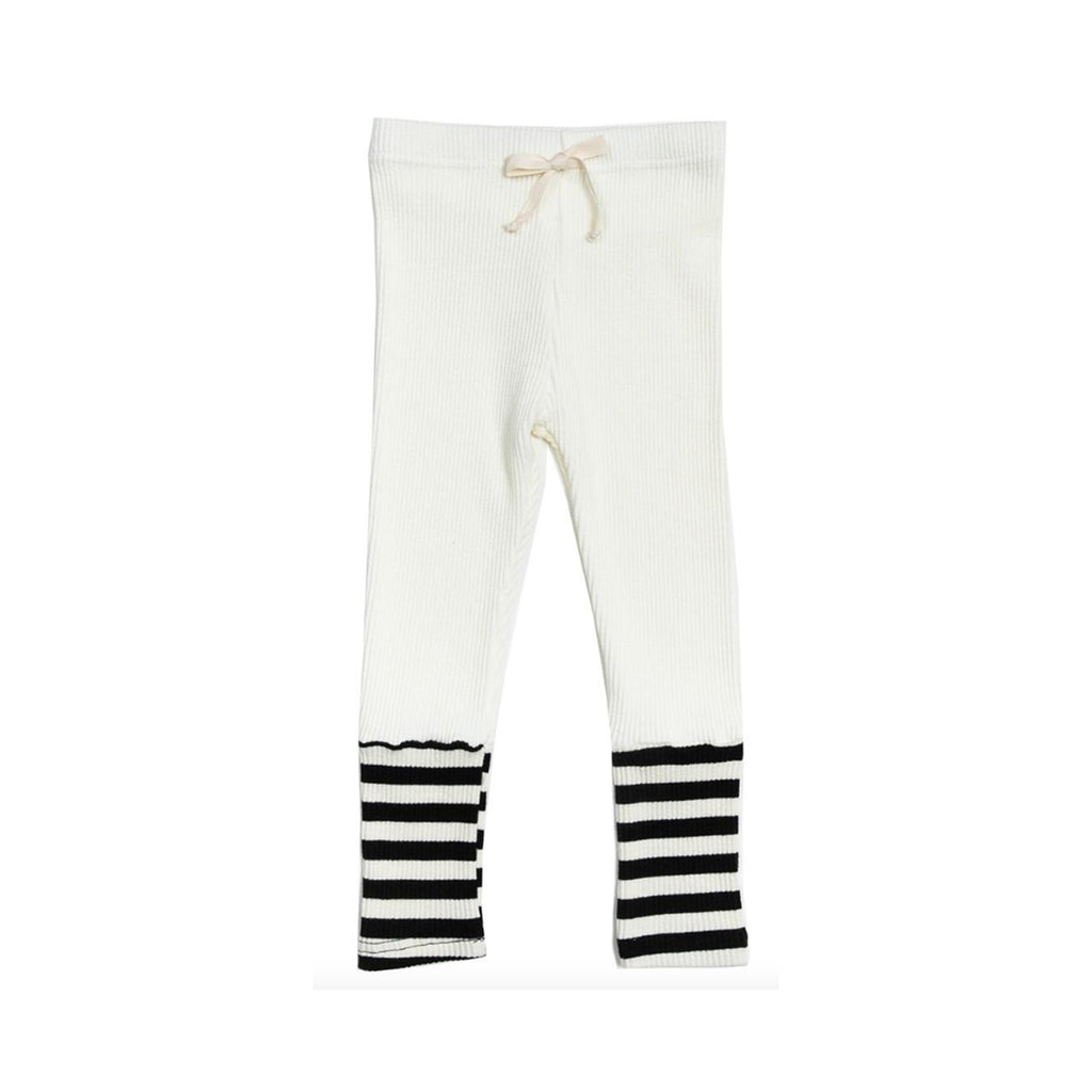 Petite Hailey Ava Combo Legging White