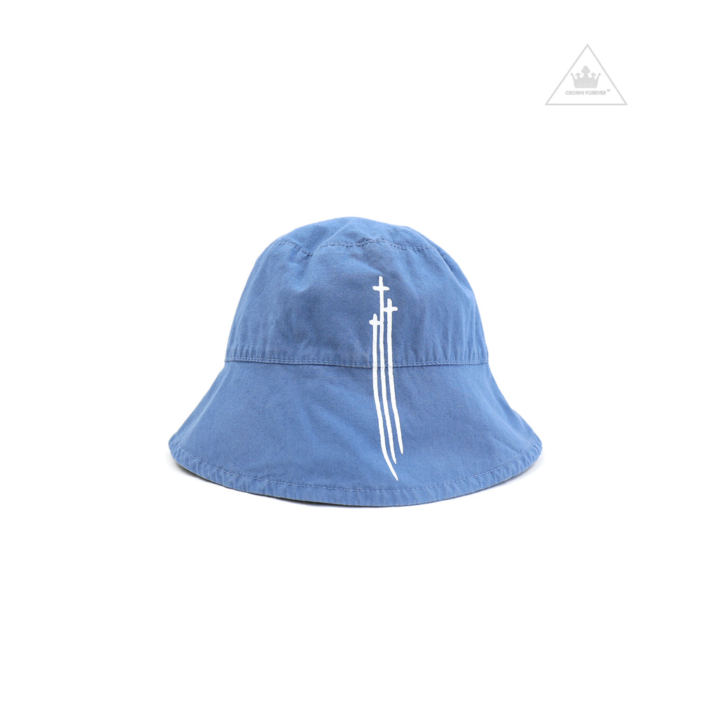 Chrome Hearts Infant's 3RS Logo Bucket Hat