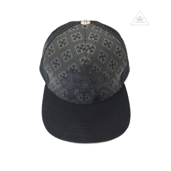 Chrome Hearts Cemetery Cross Patch Cap