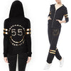 Lauren Moshi Chain Foil Hoodie and Sweat Pants Set