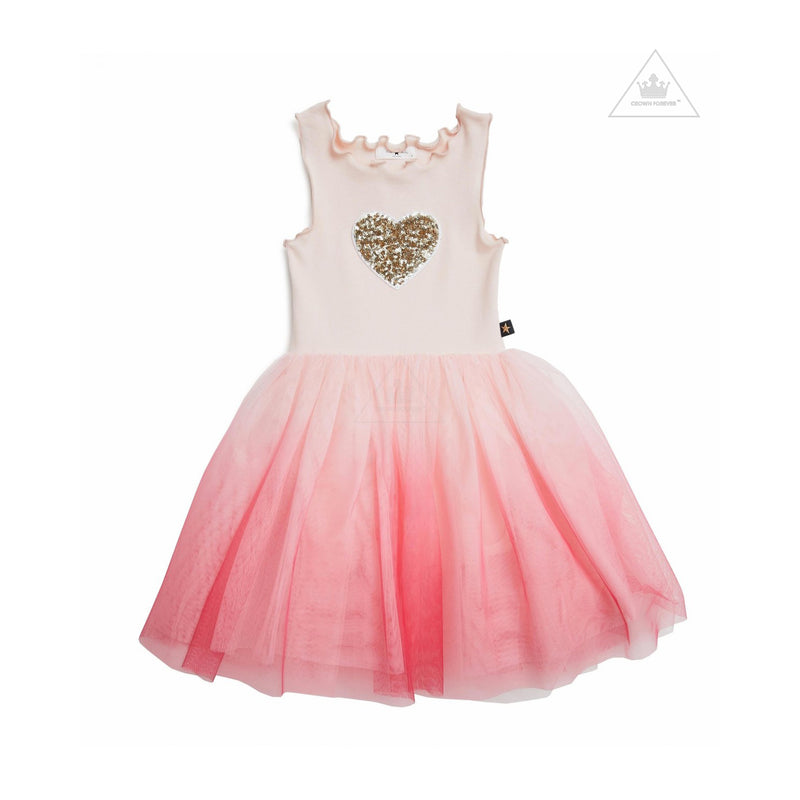 Petite Hailey PH Heart Gra Tutu Dress