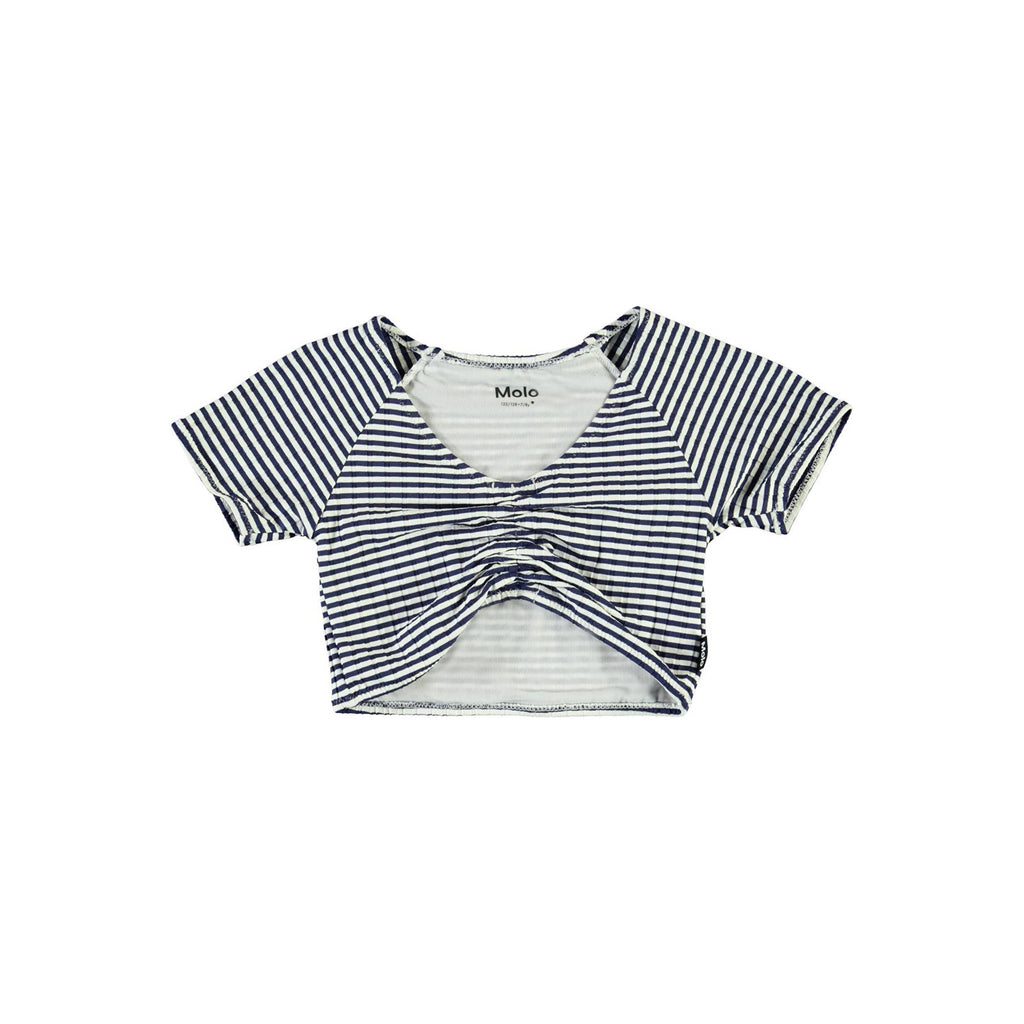 Molo Nelly Navy Stripe