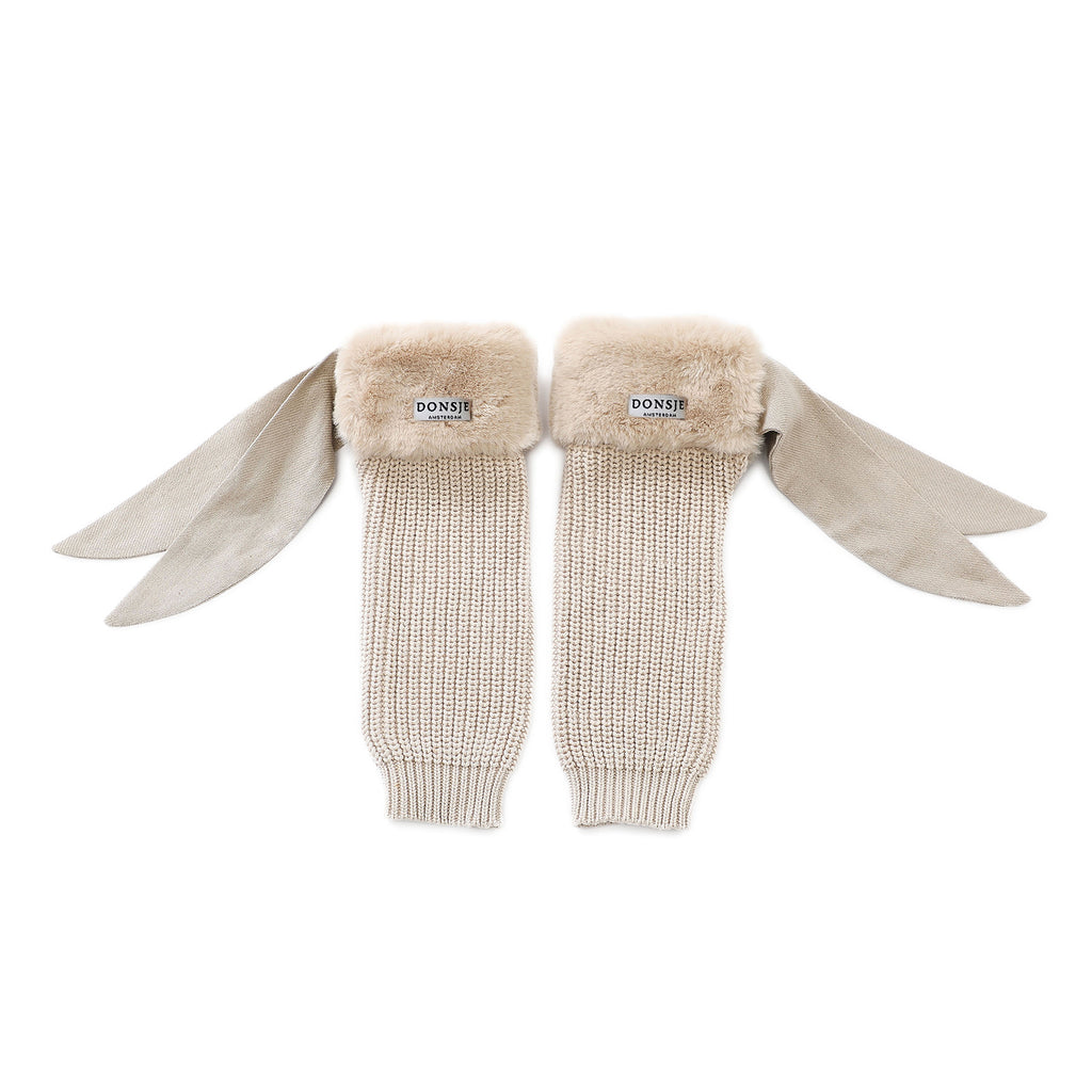 Donsje FIDA Legwarmers Light Teddy