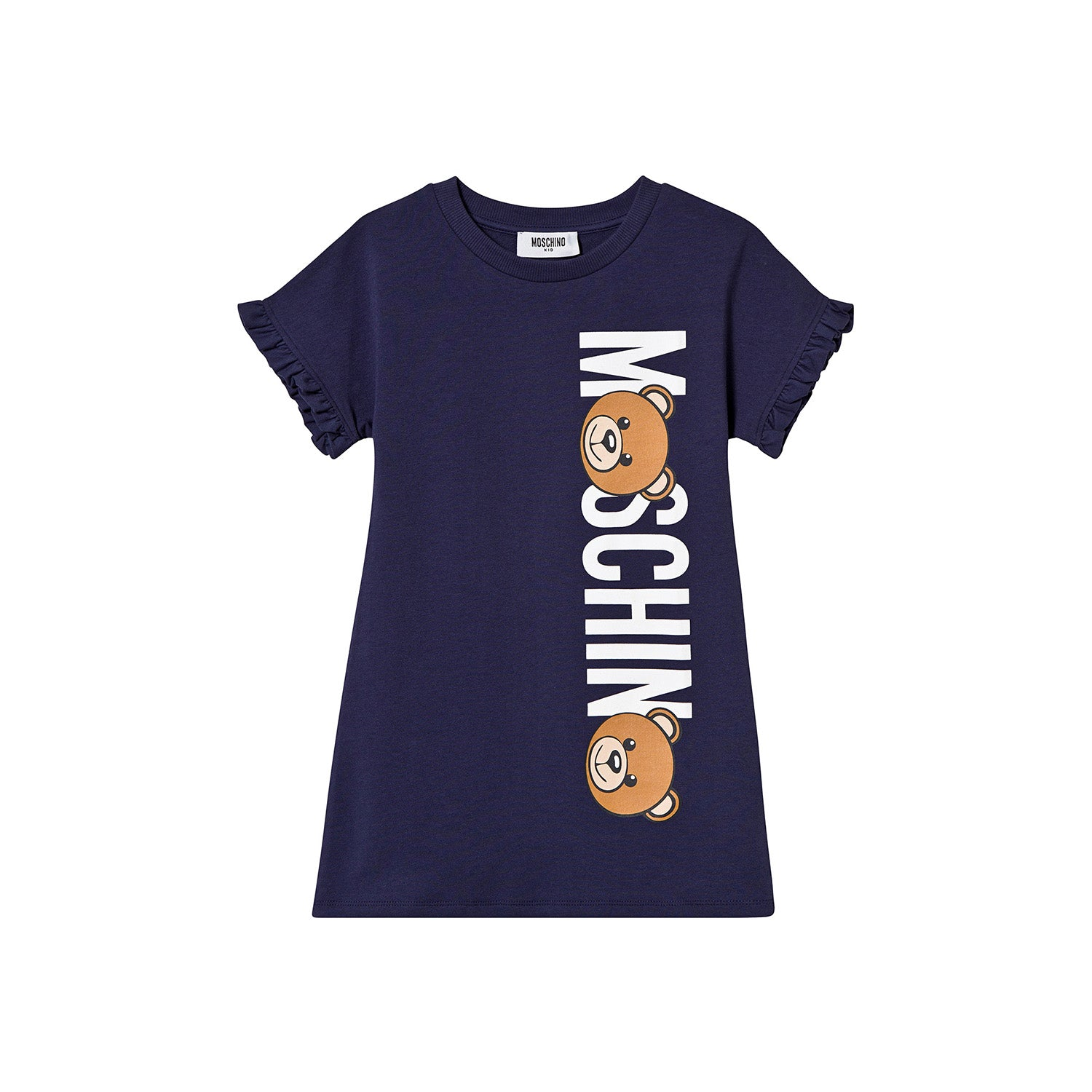 cd9b113b7 Moschino Kids Navy Bear Branded T-Shirt Dress – Crown Forever