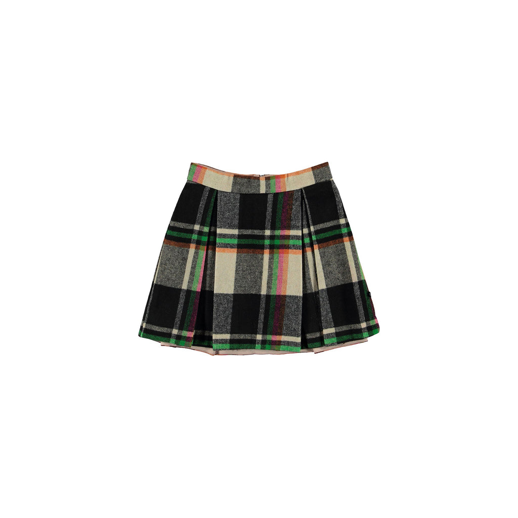 Molo Beritta Wintry Check Skirt