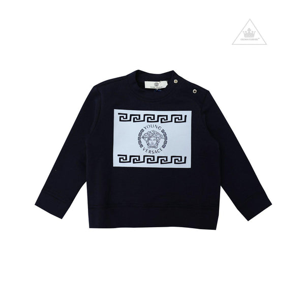 Young Versace Children Long Sleeve Shirt